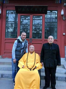 Shi Miao Du 释妙渡, Shi Yan Fo 释延佛 et Liu Bao Shan 刘宝山