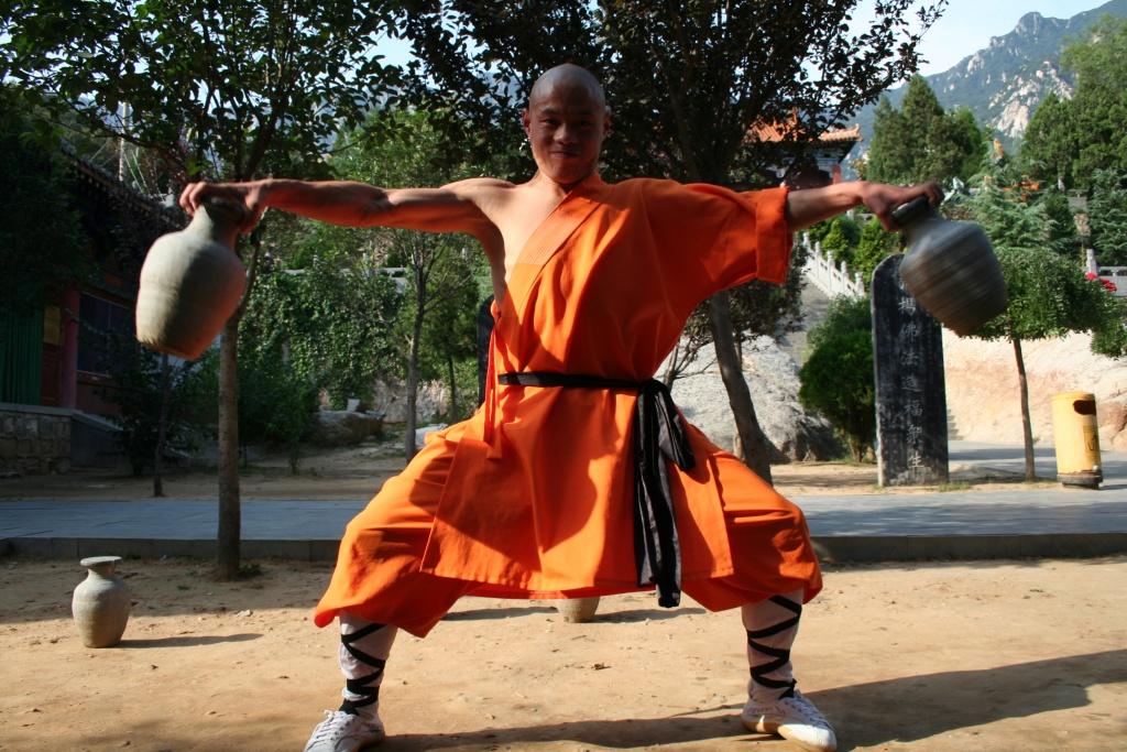 Préparation physique au Qin Na
